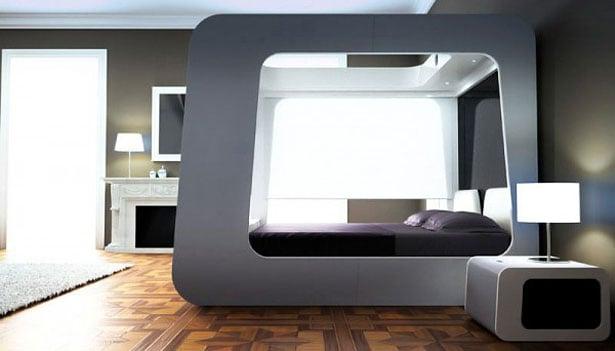 Futuristická izba