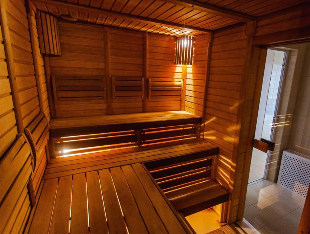 Sauna v rodinnom dome