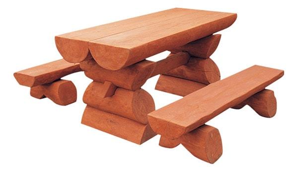 Drevená záhradný nábytok