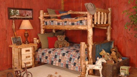 Zrubový nábytok z guľatiny
