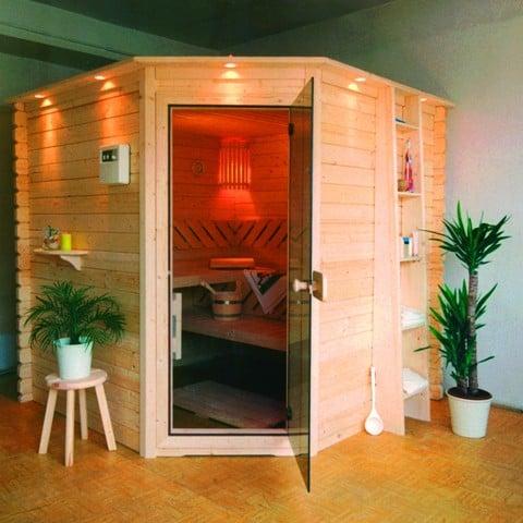 Zrubová sauna