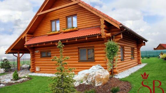 Bývanie v zrubovom dome