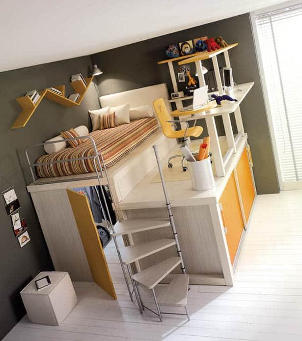 Nápady na úsporný nábytok pre deti a mládež