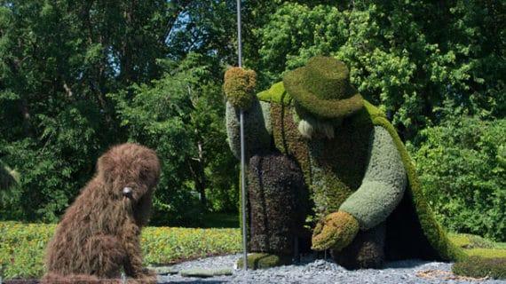 Najvýznamnejšia súťaž sochárov zelene na svete