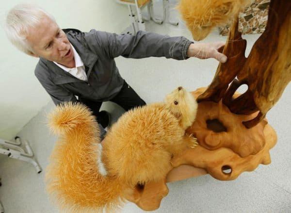 Sergej Bobkov - zvieracie sochy