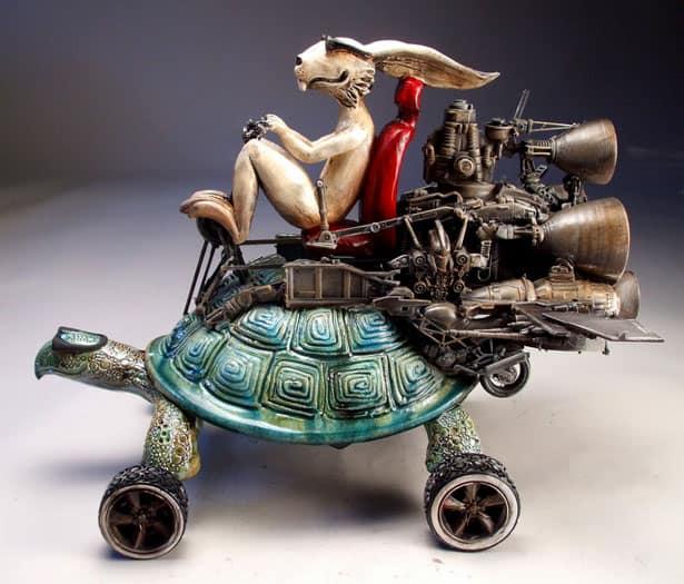 Mitchell Grafton - Zajac na korytnačke