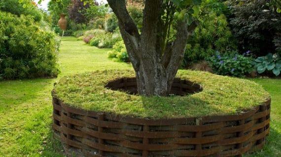 Drevené záhradné sedenie