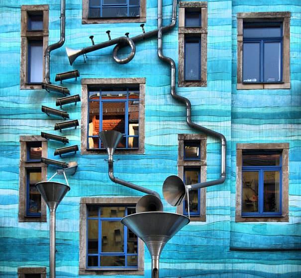 Hrajúci dom - Dráždany