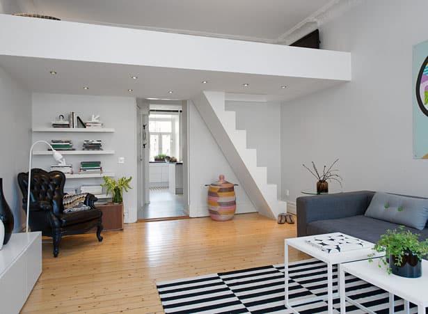 Pod stropom - malý byt