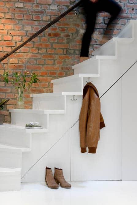 Schody - malý byt