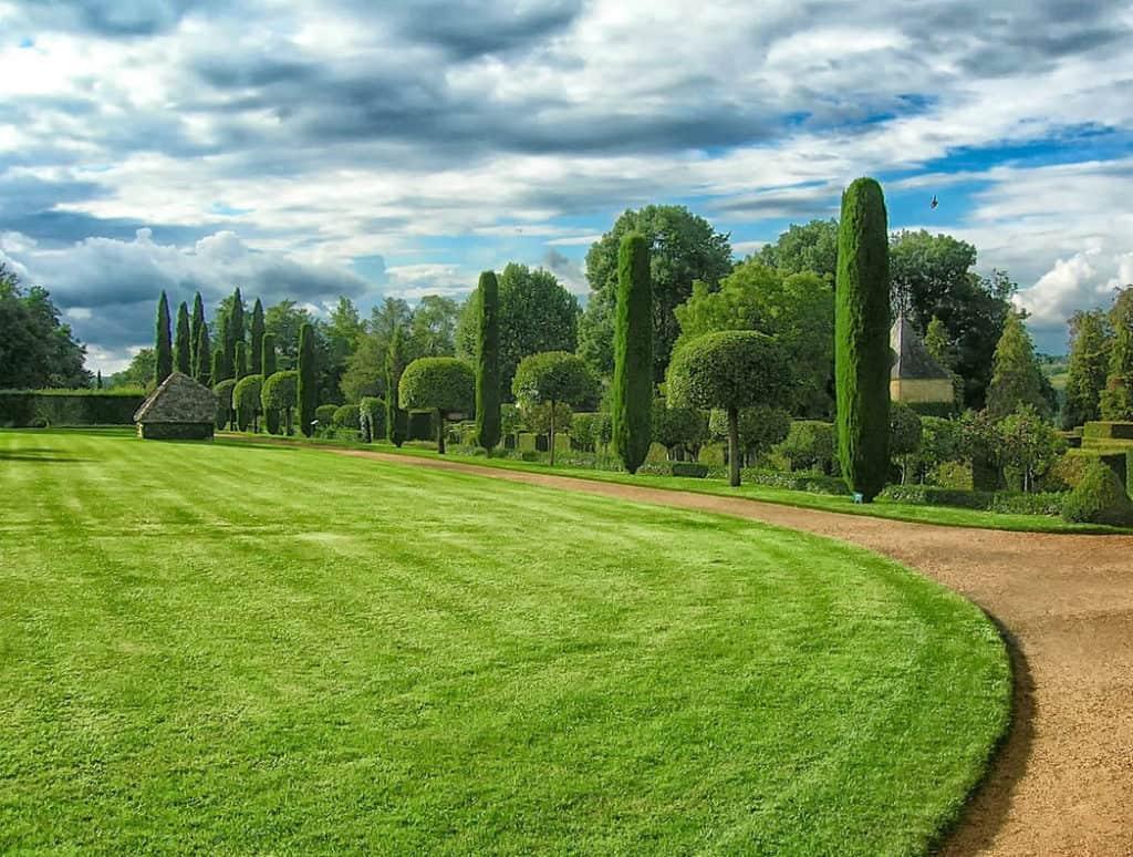 Zásady projektovania veľkej záhrady
