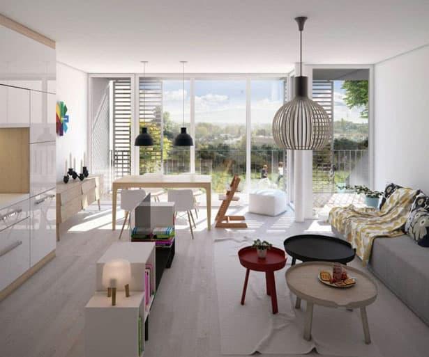 Kuchyňa a obývačka v jednom spája rodiny