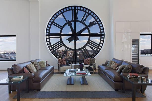 Bývanie vo veži s hodinami