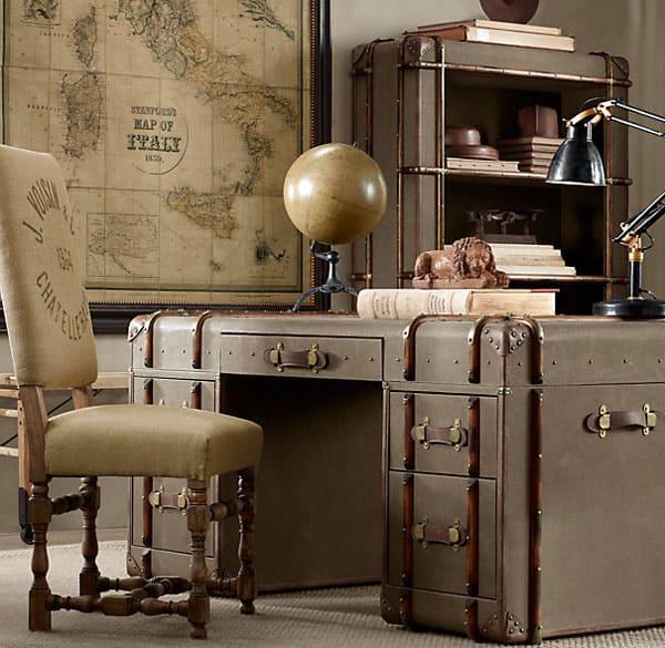 Nábytok inšpirovaný starým lodným kufrom