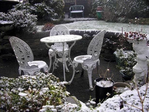 Zima v záhrade - zazimovanie