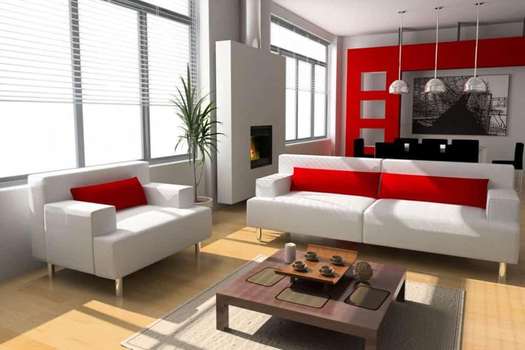 Obývačka podľa princípov feng – šuej