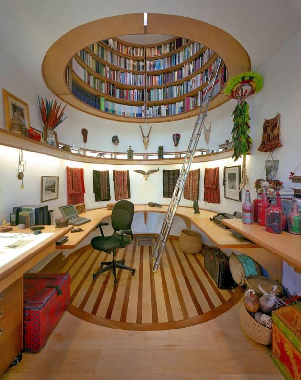 Študovňa - domáca knižnica