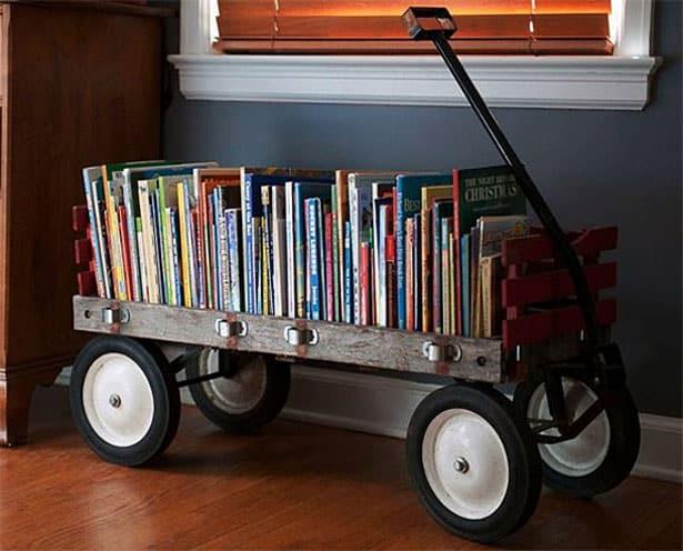 Vozík na knihy