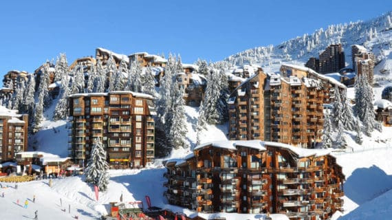 Francúzske lyžiarske stredisko Avoriaz