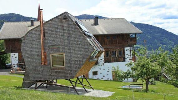 Kompaktný domček s nádherným výhľadom na Alpy