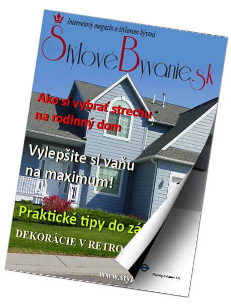 Internetový magazín Štýlové Bývanie