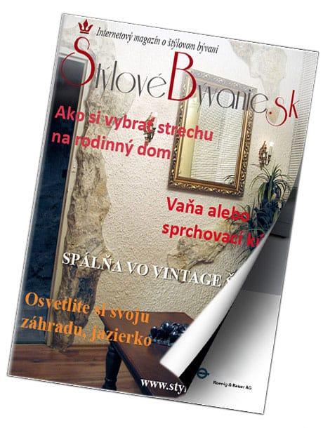 Online magazín Štýlové Bývanie - reklama