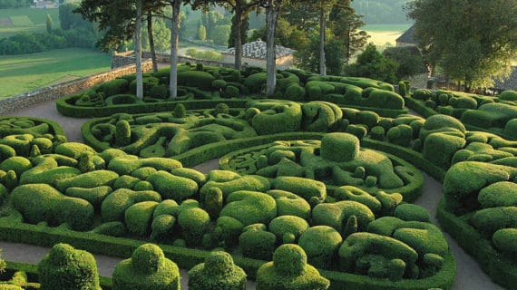 Úžasné záhrady Marqueyssac
