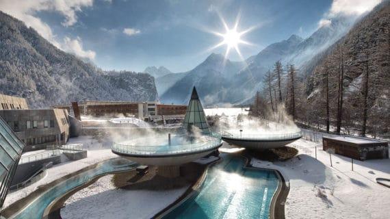 Relaxačné miesto v nádherných rakúskych vrchoch