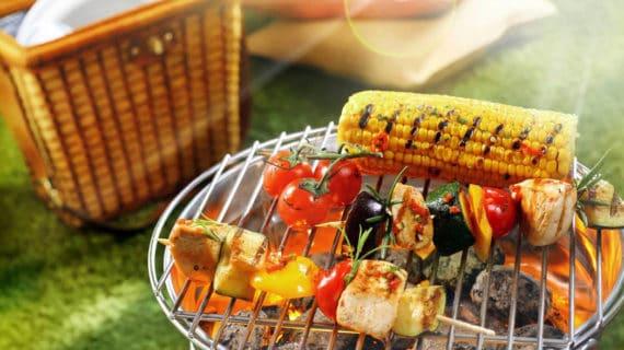 Užite si piknik s jednorazovým grilom SOLO