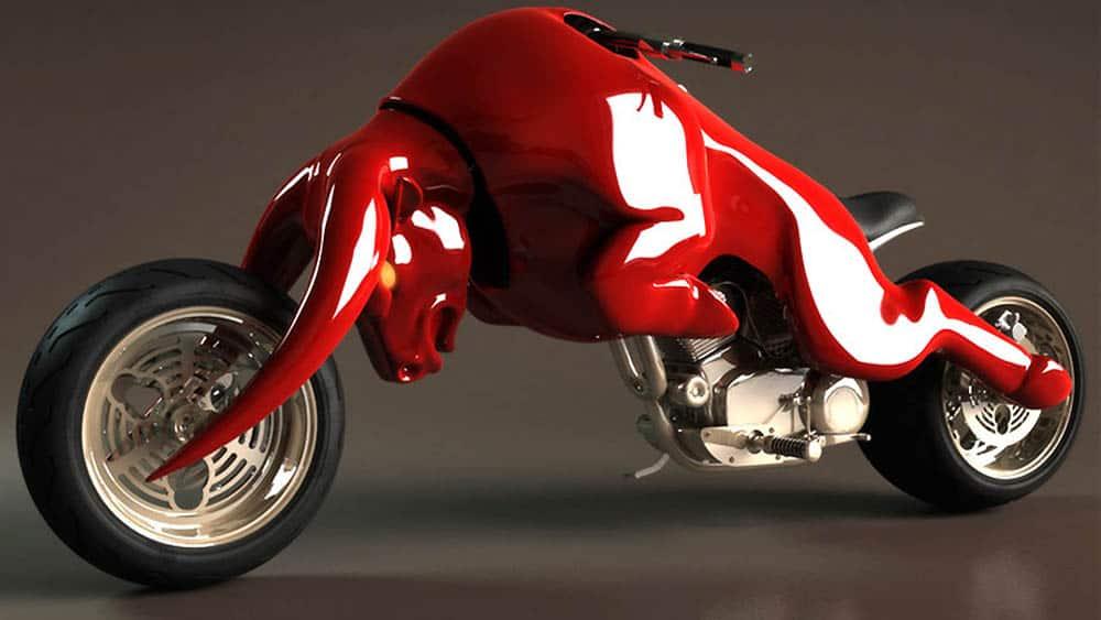 Motocykle inšpirované slávnymi logami