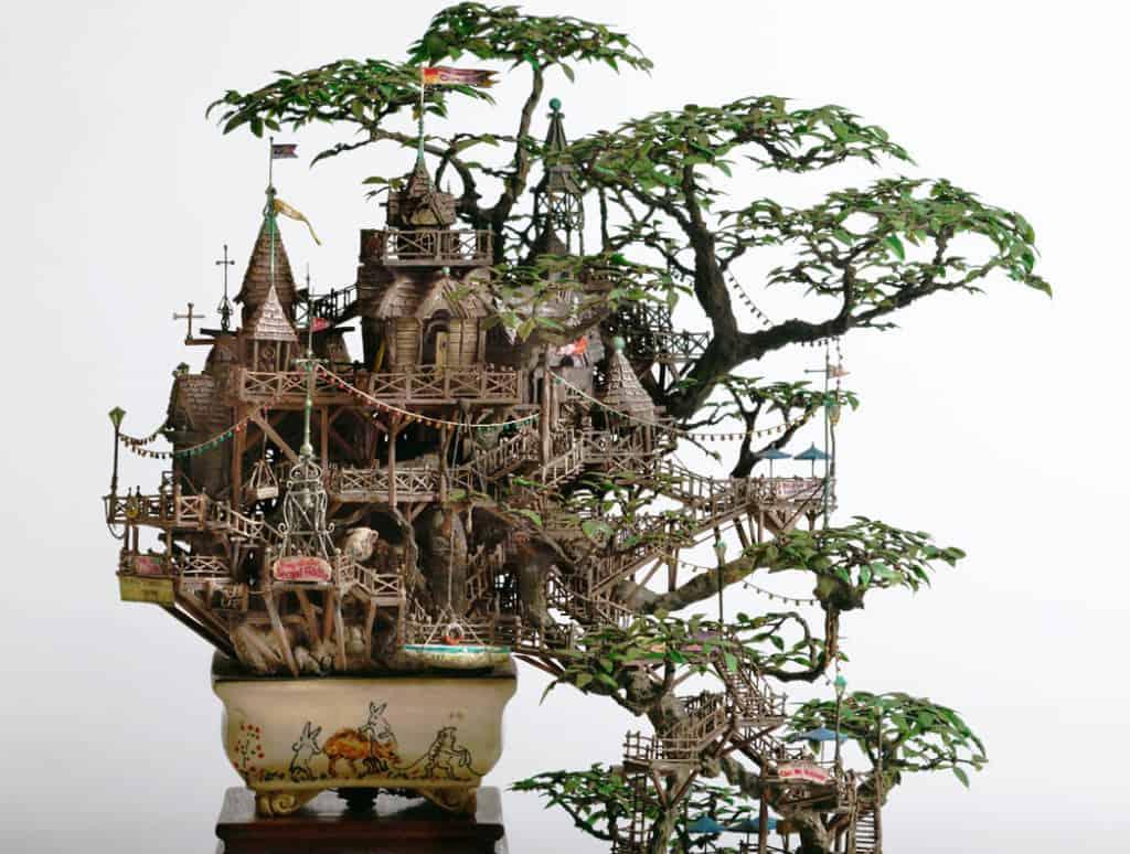 Miniatúrne domčeky