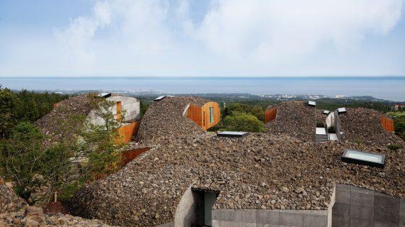 Nové vily na ostrove Jeju v Kórei