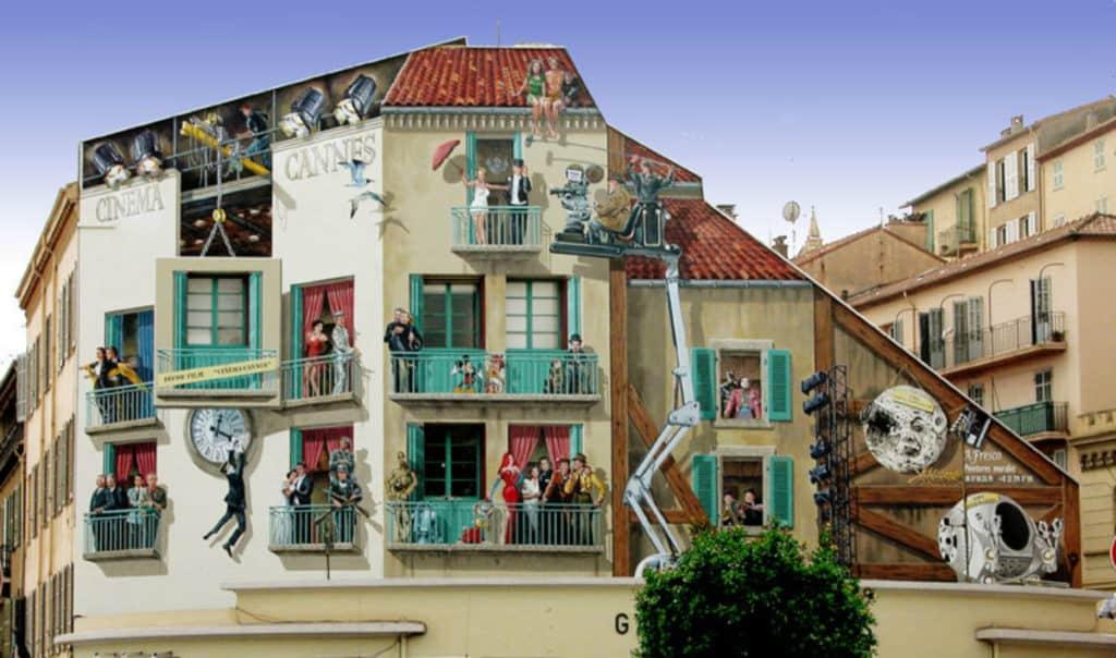Falošné fasády – nástenné maľby skrášľujú Francúzsko