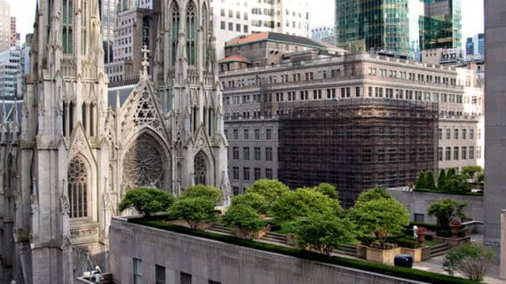 Záhrady na strechách Rockefellerovho centra