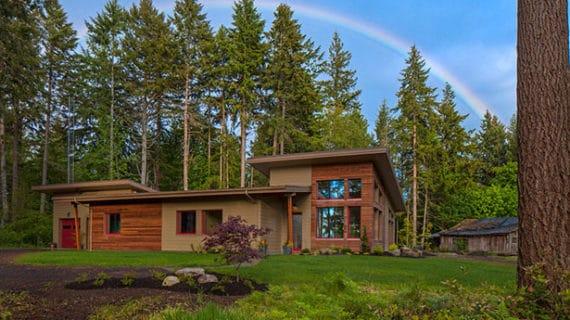 Moderný ekologický dom