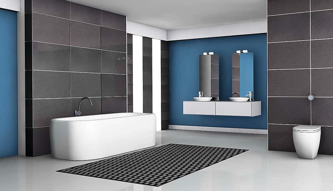 Obkladať kúpeľňu až po strop alebo iba do určitej výšky?