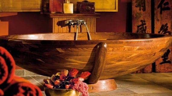 Štýl a elegancia z prírody – drevo v kúpeľni