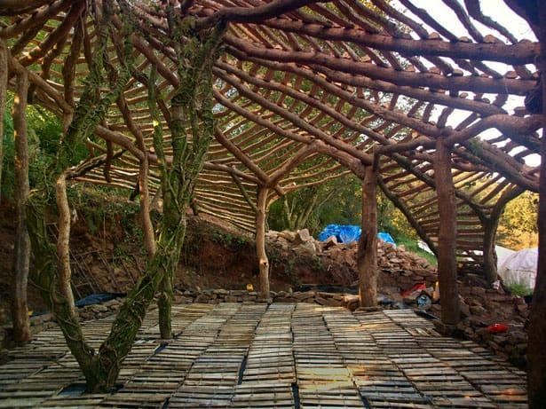 Strecha hobitieho domčeka