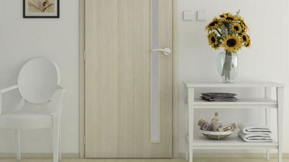 Unikátny štruktúrovaný povrch dverí