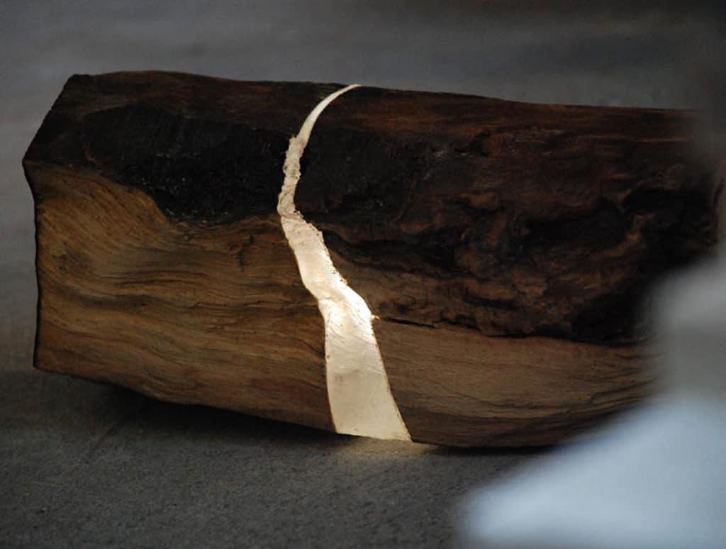 Lampy zo zbytkového dreva