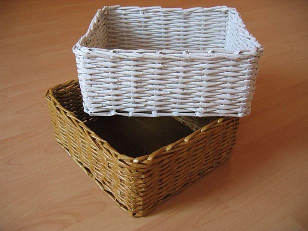 Papierový košík
