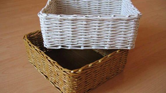 Papierové pletenie - dekorácie do každej domácnosti
