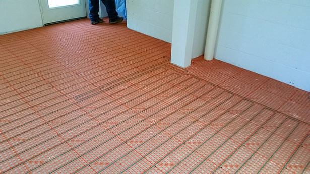 Podlahové vykurovanie - ťahanie
