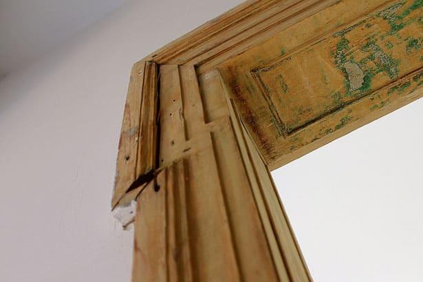 Staré dvere - renovácia