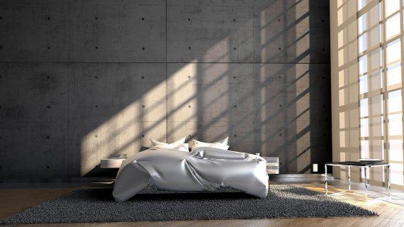 Betón v modernom interiéri