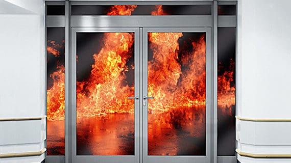 Ako spoznať dvere odolné voči ohňu?