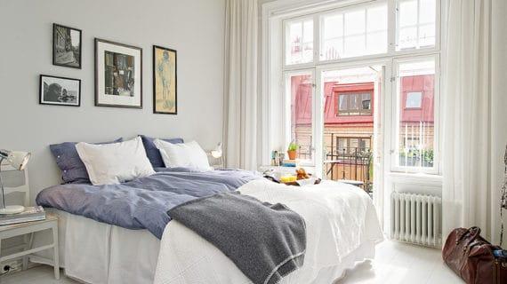 Francúzske okná a presklený balkón