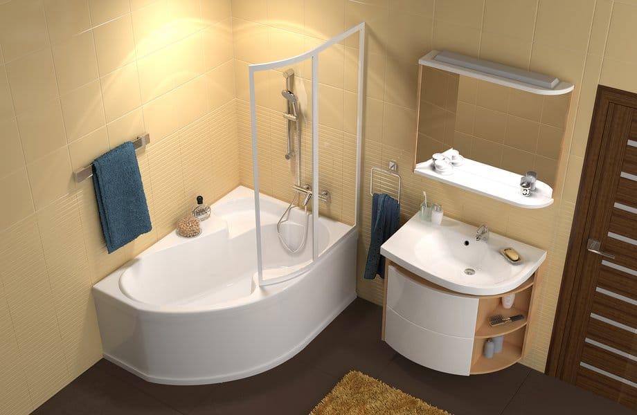 Moderné sprchové kúty