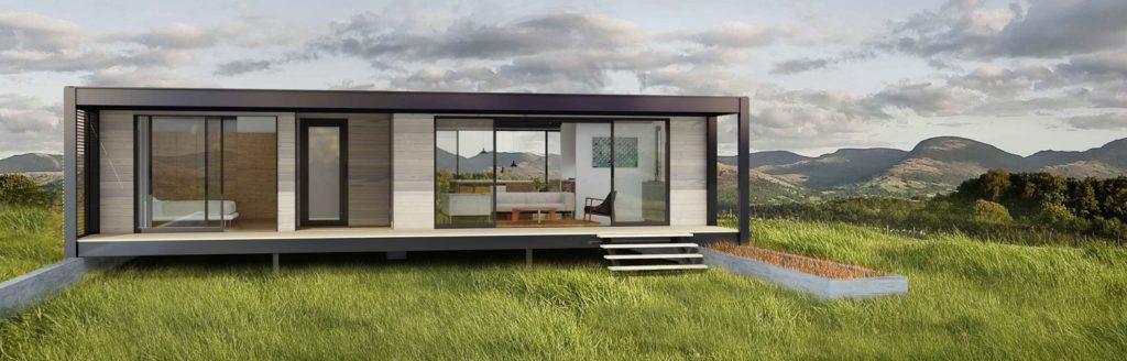 Moderné mobilné domy