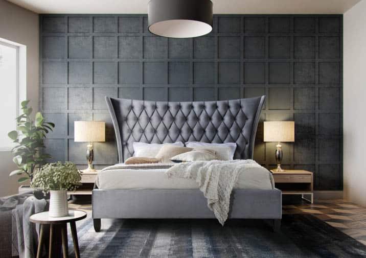 Elegantná manželská posteľ Alesia